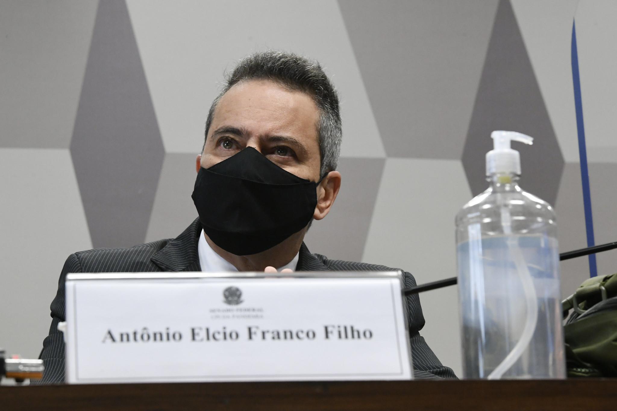 Termina depoimento de Elcio Franco na CPI da Covid; Wilson Lima é o próximo