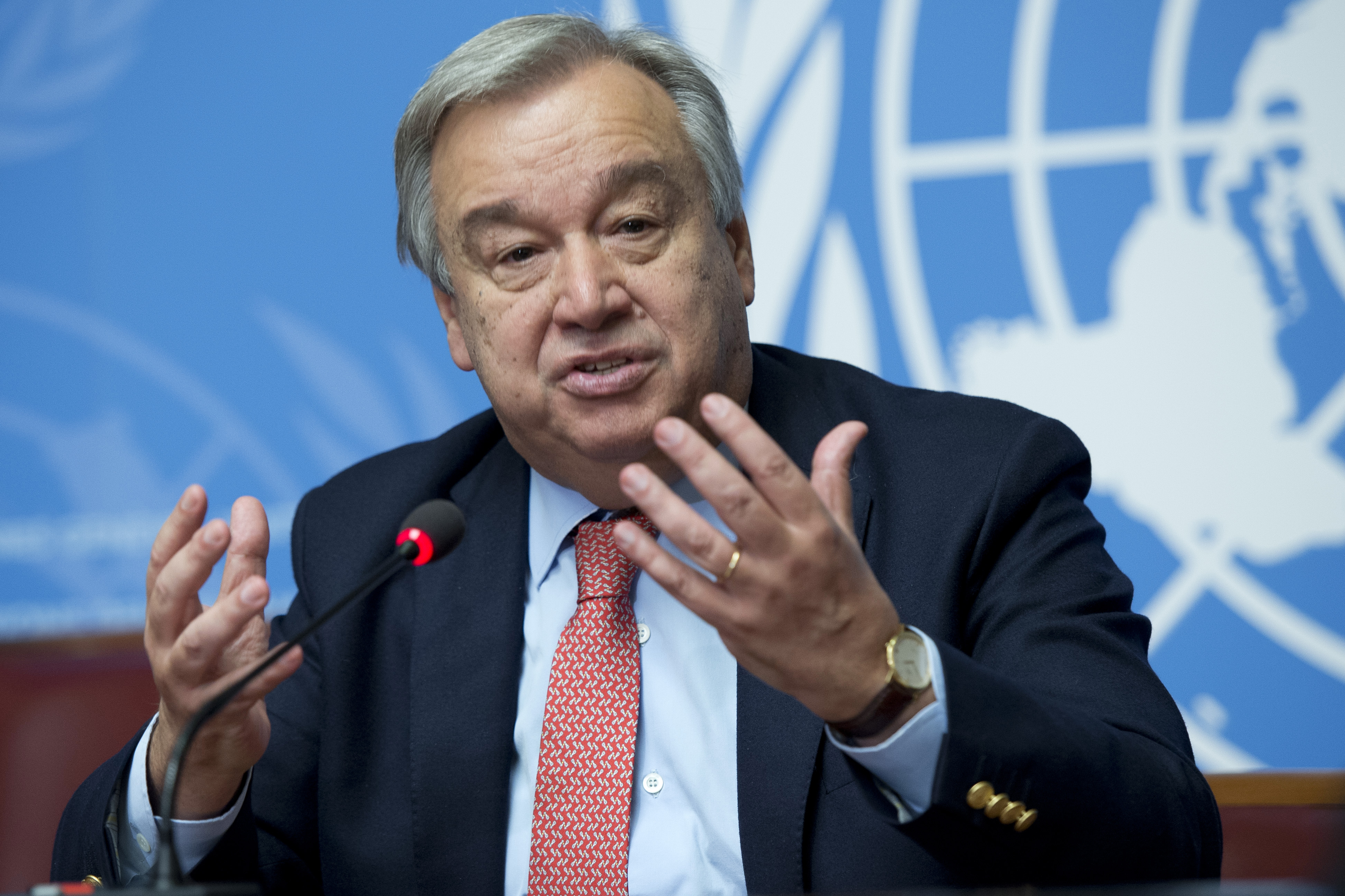 IMAGEM: Itamaraty apoia recondução de Guterres como secretário-geral da ONU