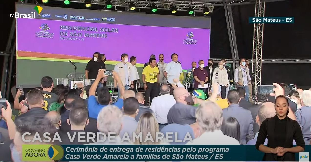 """IMAGEM: Bolsonaro cita cloroquina e diz que foi """"único chefe de Estado"""" a procurar remédio contra Covid"""