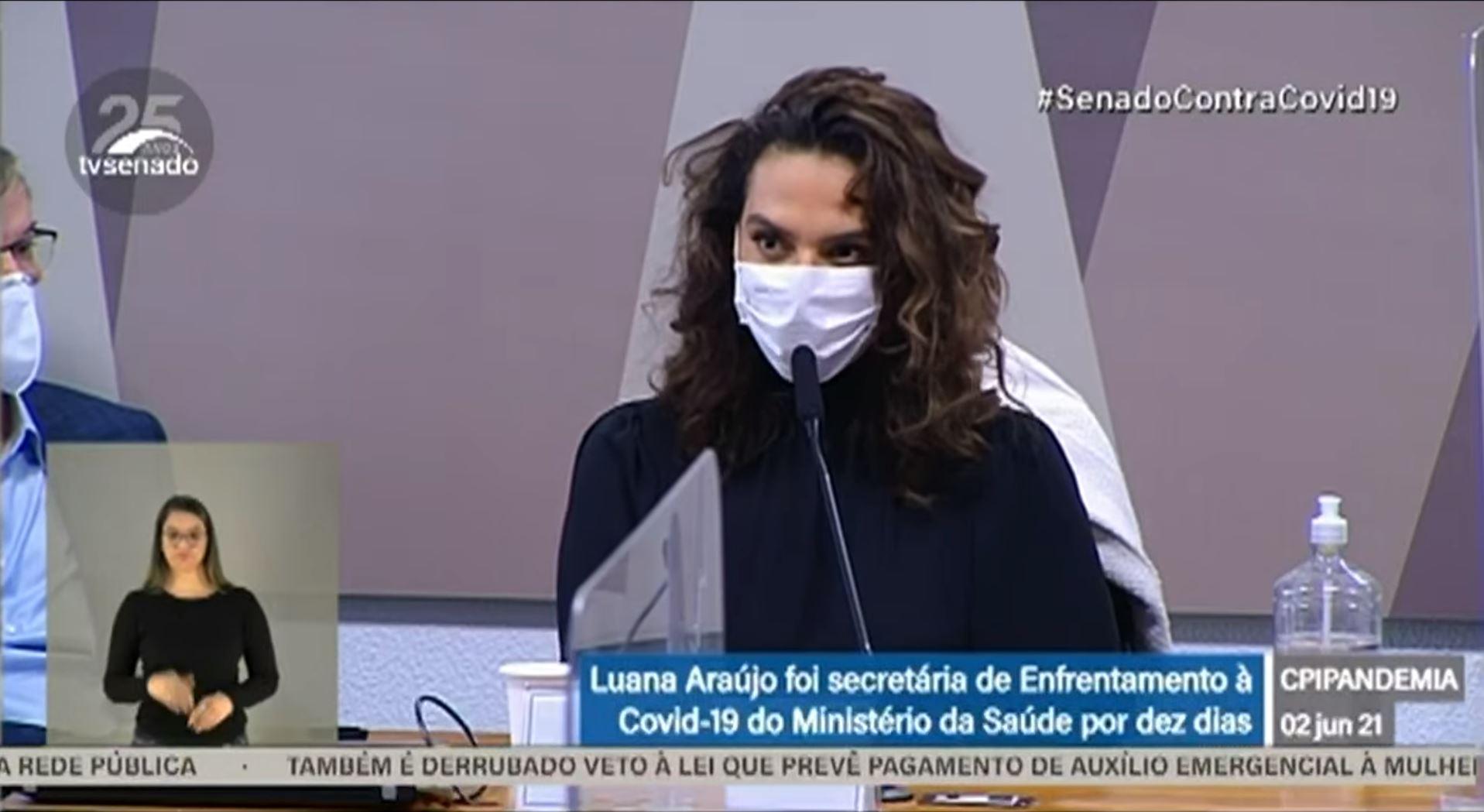 Queiroga informou que nomeação de Luana Araújo foi vetada pela Casa Civil
