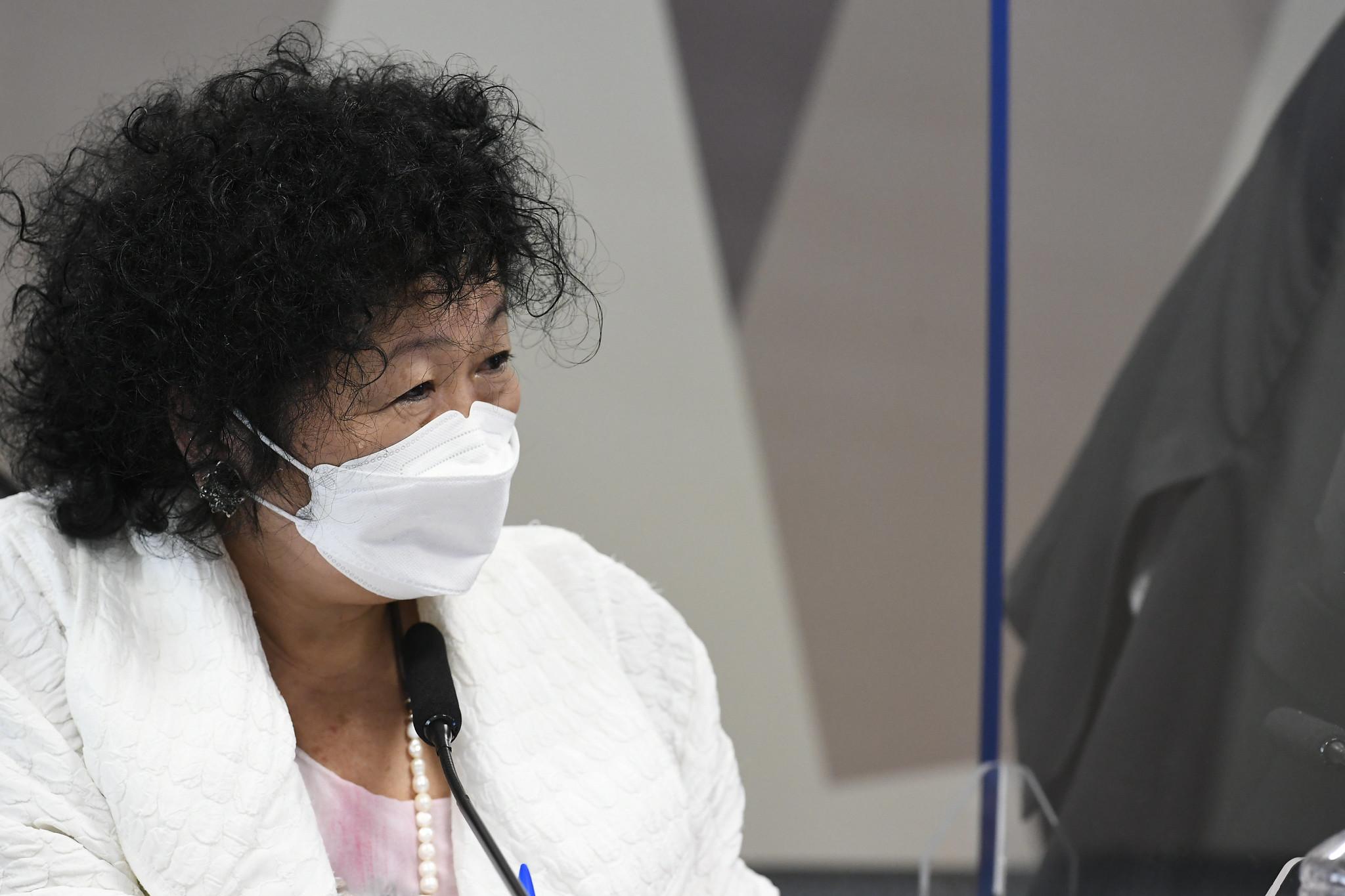 IMAGEM: Nise Yamaguchi diz ter sido humilhada na CPI da Covid