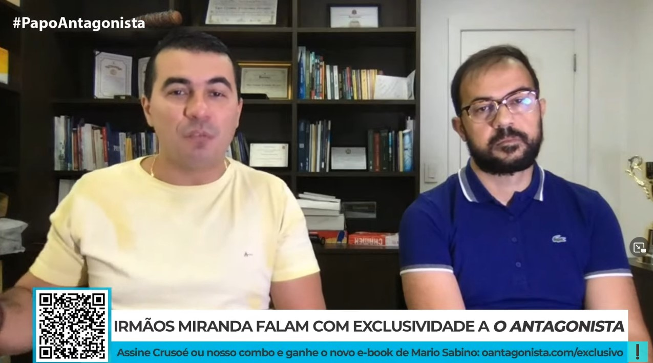IMAGEM: Crusoé, exclusivo: Luis Miranda diz que lobista ofereceu-lhe propina de 6 centavos de dólar por dose de vacina