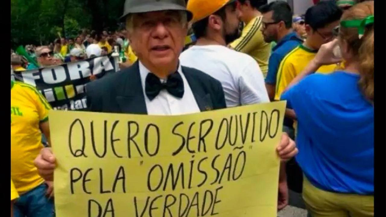 IMAGEM: Justiça condena delegado Carlinhos Metralha, ex-agente da repressão na ditadura