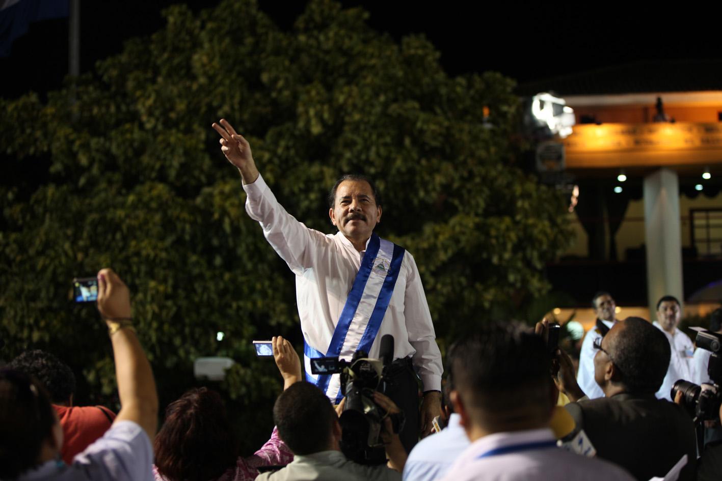 IMAGEM: Ditador da Nicarágua chama opositores que prendeu de 'agentes' dos EUA