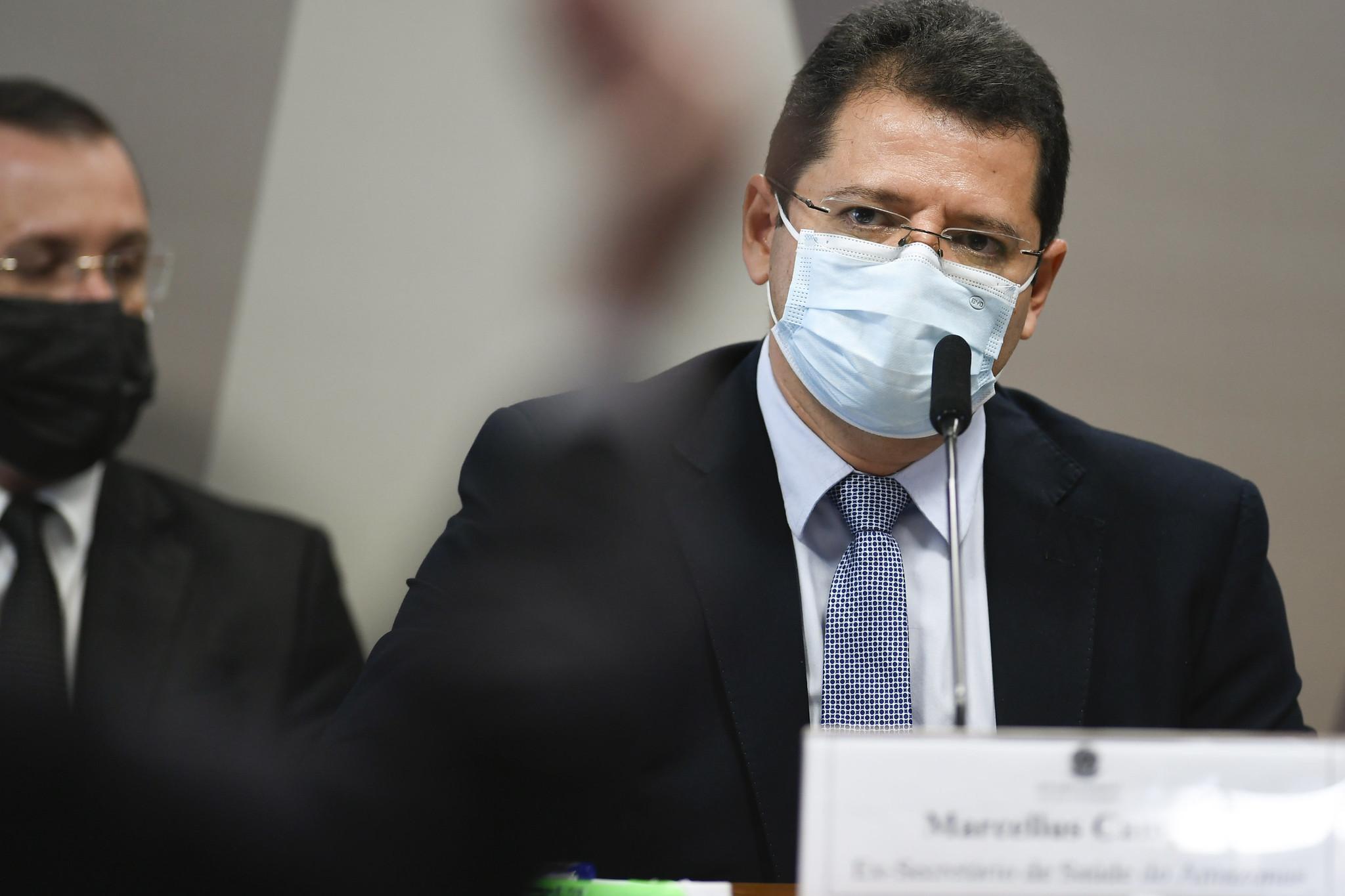 IMAGEM: Saiba tudo o que disse Marcellus Campêlo na CPI