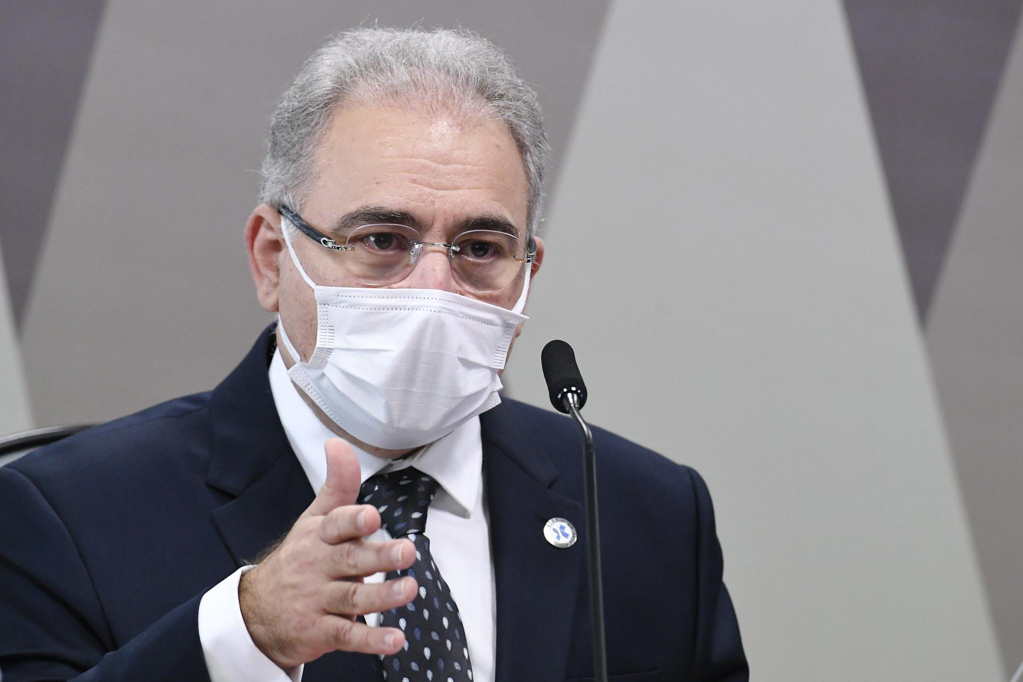 IMAGEM: Saiba tudo o que disse Marcelo Queiroga na CPI