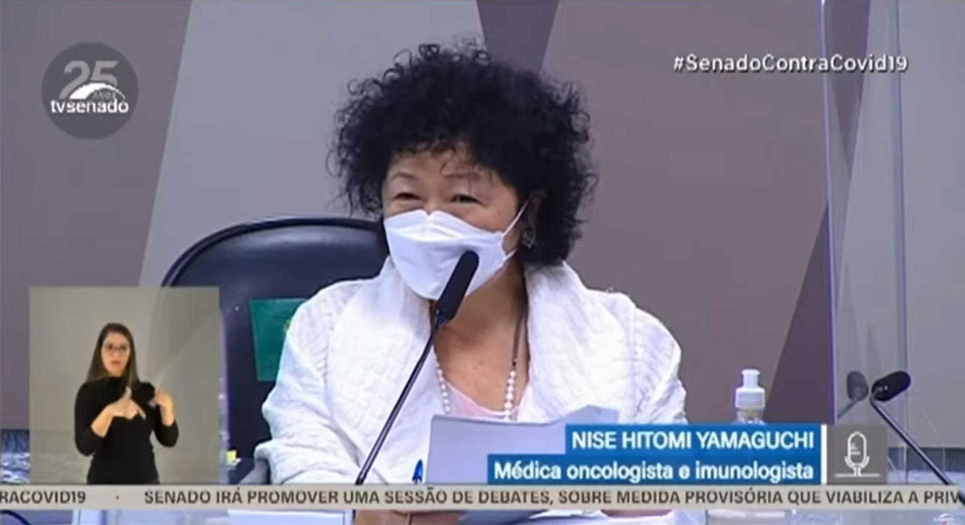 """IMAGEM: Presidente do CFM reclama da forma como Otto Alencar tratou Nise: """"Ato de misoginia"""""""