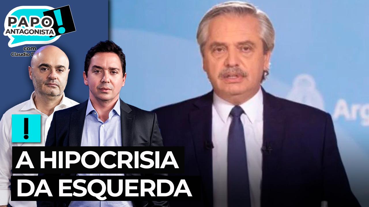 IMAGEM: Presidente da Argentina faz piada racista, mas é poupado por ser 'progressista'