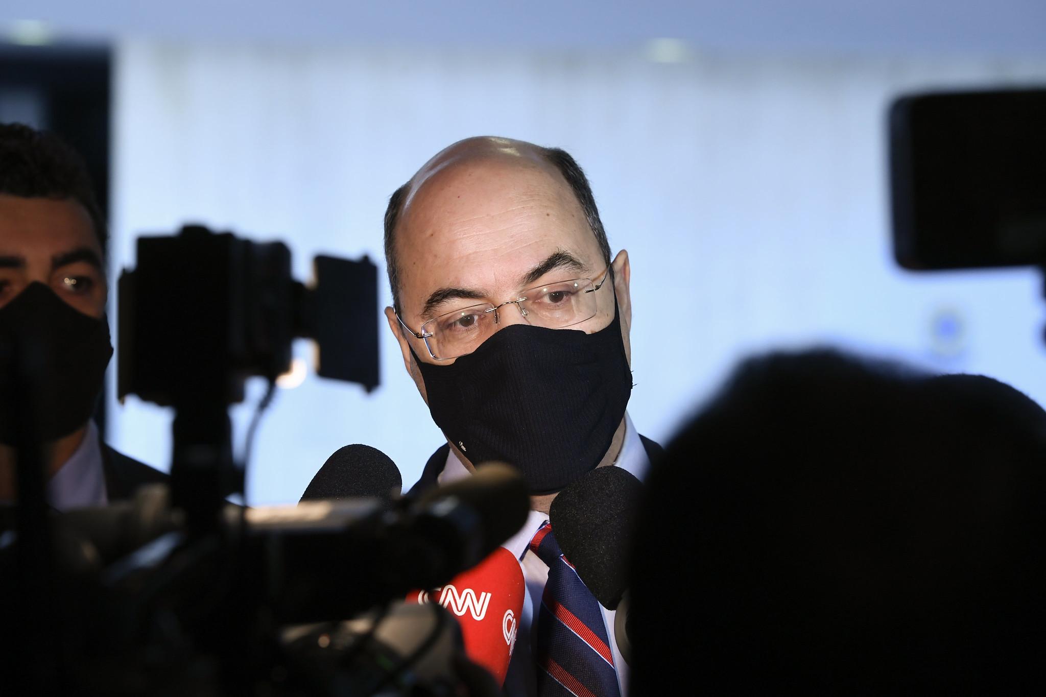IMAGEM: Witzel ataca Moro na CPI: 'menino de recado' de Bolsonaro
