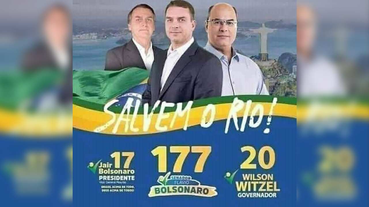 IMAGEM: Witzel ainda pode salvar o Rio… e o Brasil