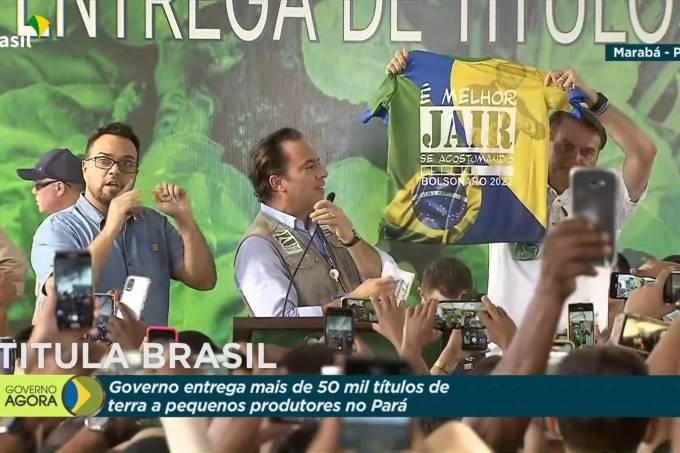 IMAGEM: MP Eleitoral pede multa a Bolsonaro por propaganda antecipada