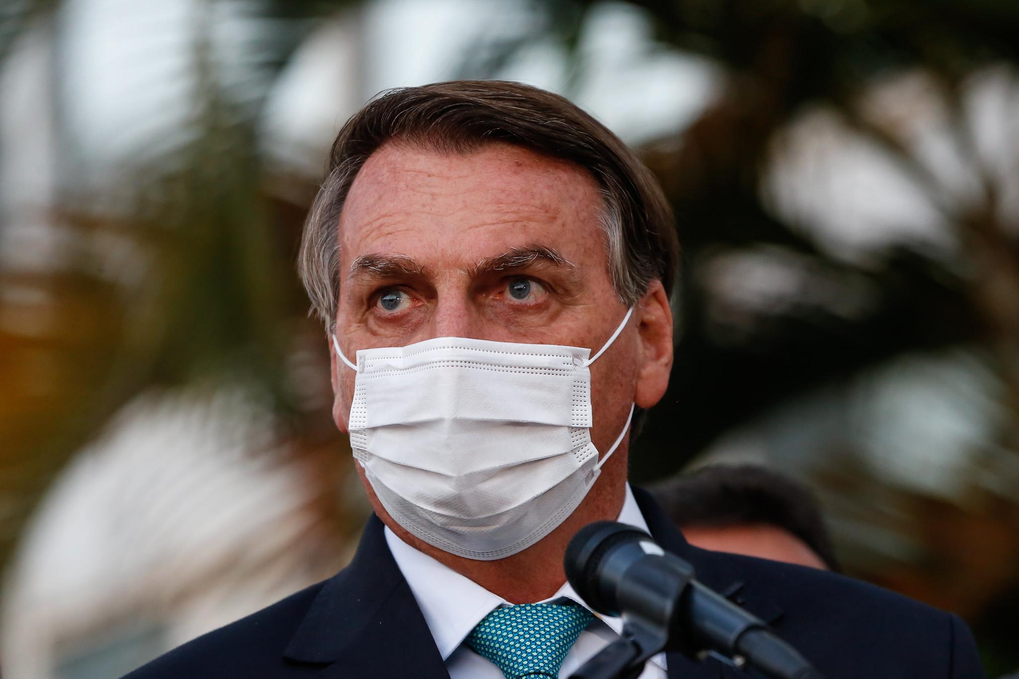 IMAGEM: Bolsonaro sentiu, e não foi pouco