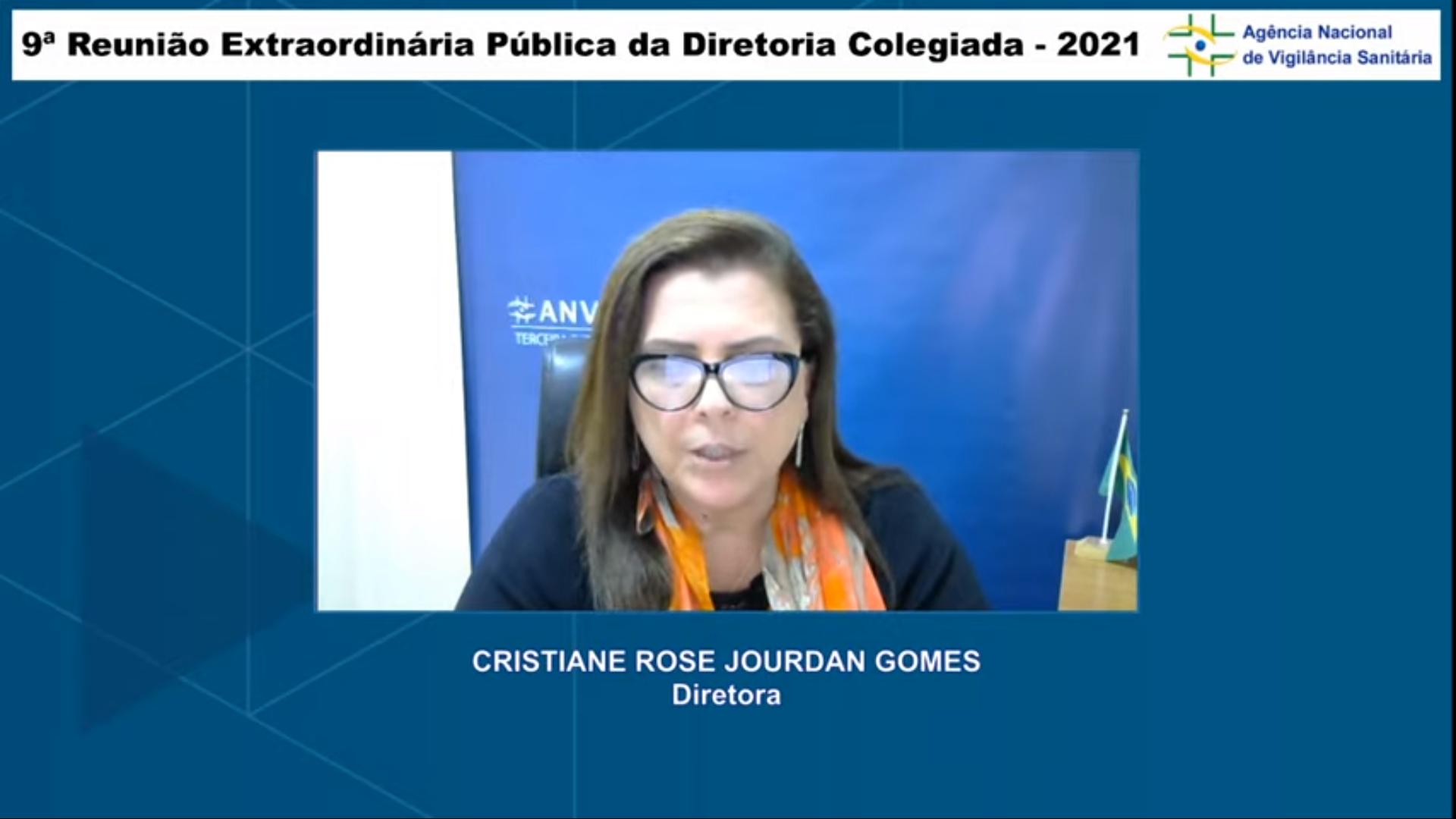 IMAGEM: 2×1: Diretora da Anvisa vota contra importação da Covaxin