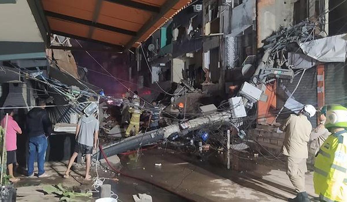 IMAGEM: Dono de prédio que desabou em Rio das Pedras admite que construção era irregular