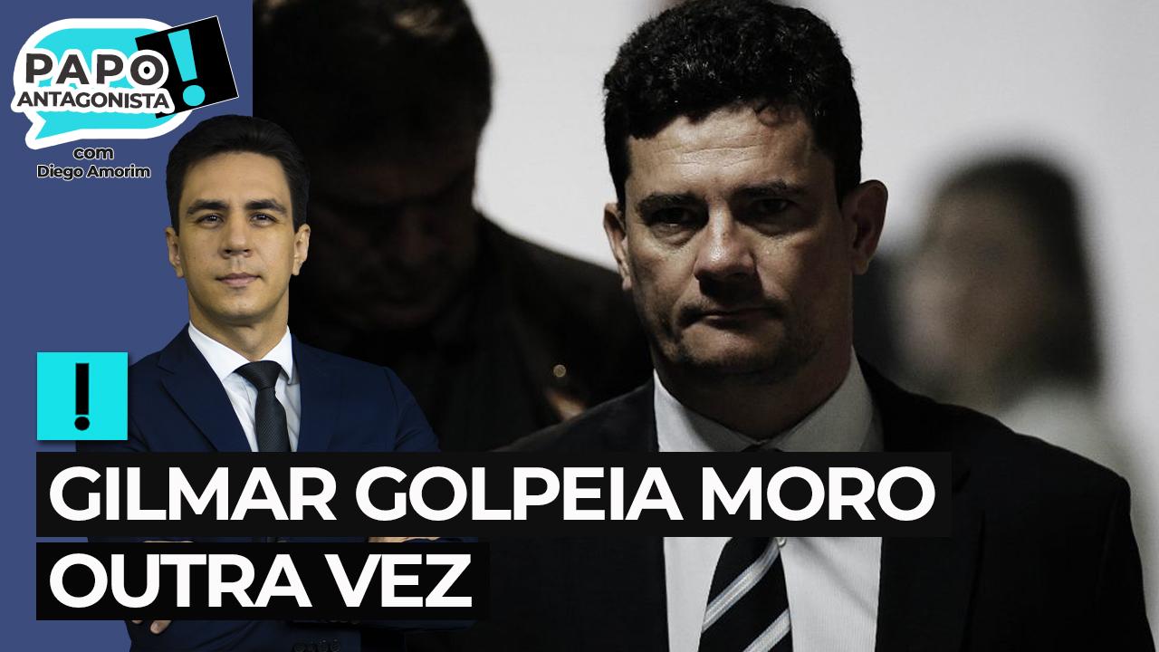 IMAGEM: Gilmar golpeia Moro outra vez