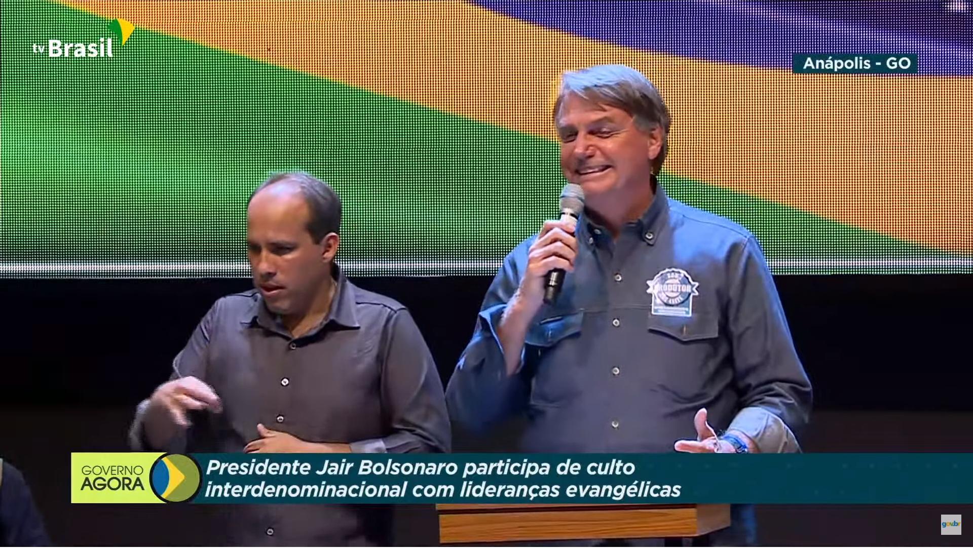 IMAGEM: 'Perdemos agora o Peru', diz Bolsonaro sobre eleição de esquerdista