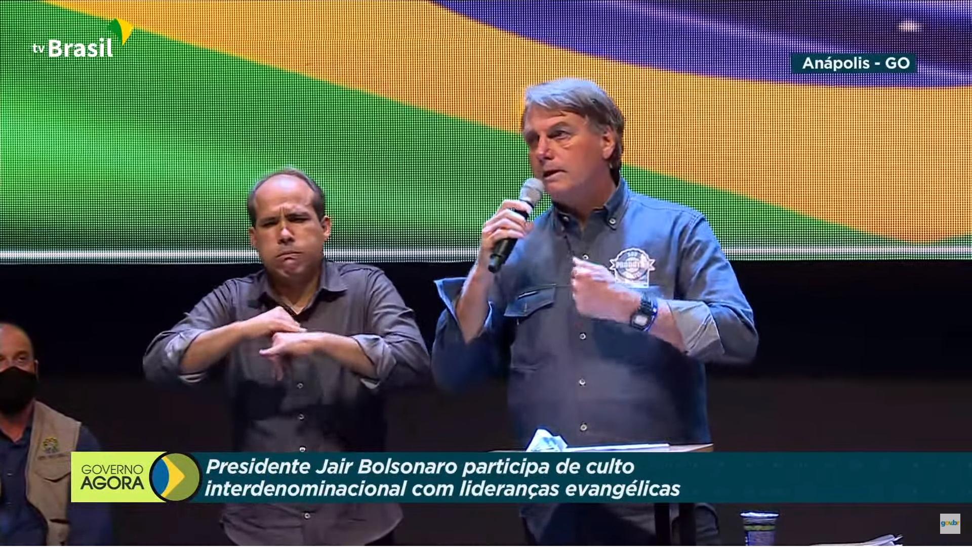 IMAGEM: Transmissão de culto pela TV Brasil configura crime de responsabilidade, dizem especialistas