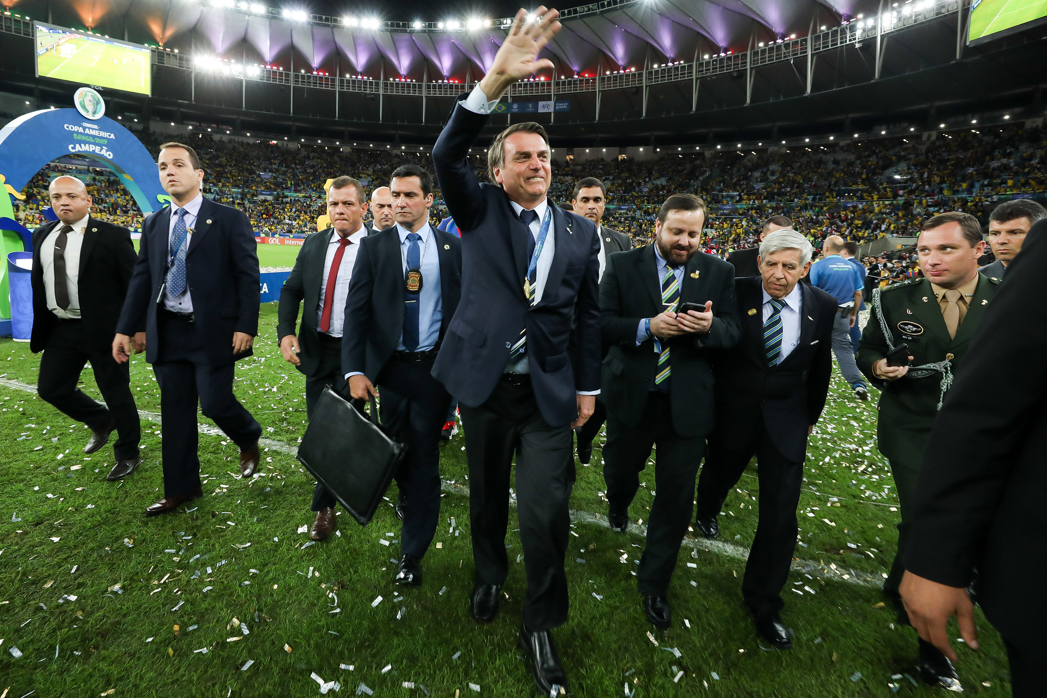 IMAGEM: Sobe para 140 o número de casos de Covid na Copa América, diz Conmebol