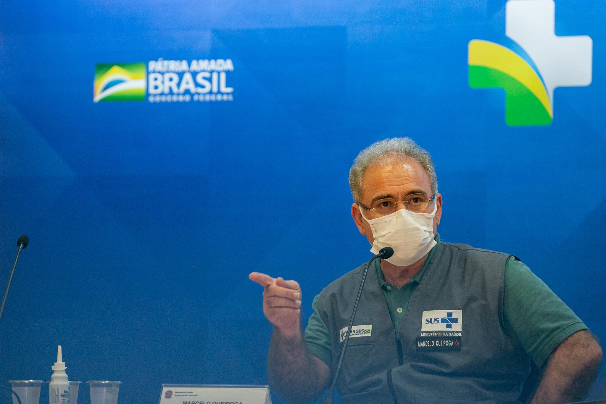 Ministro da Saúde anuncia antecipação de 7 milhões de doses da Pfizer
