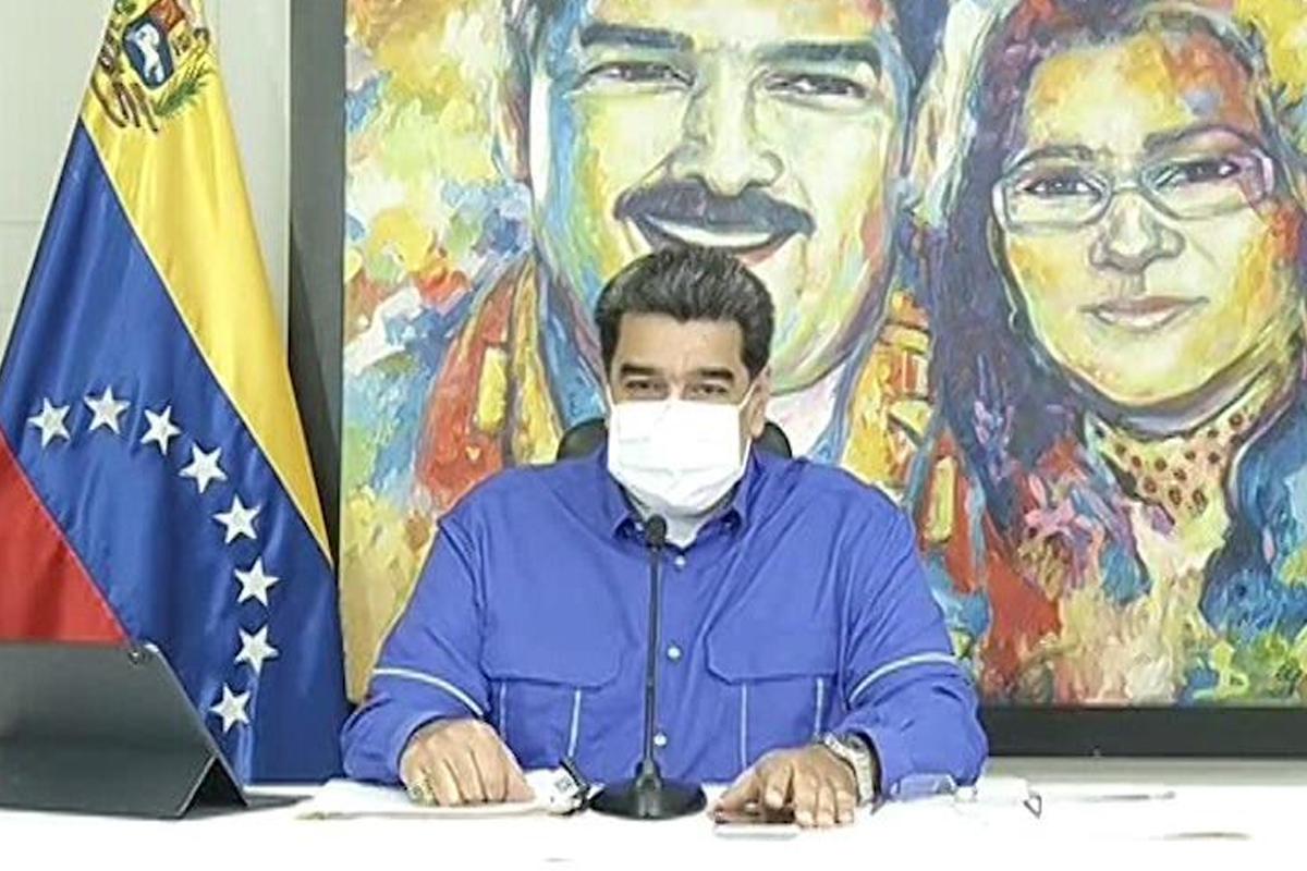 IMAGEM: Maduro diz que chegou hora de acordo com Biden