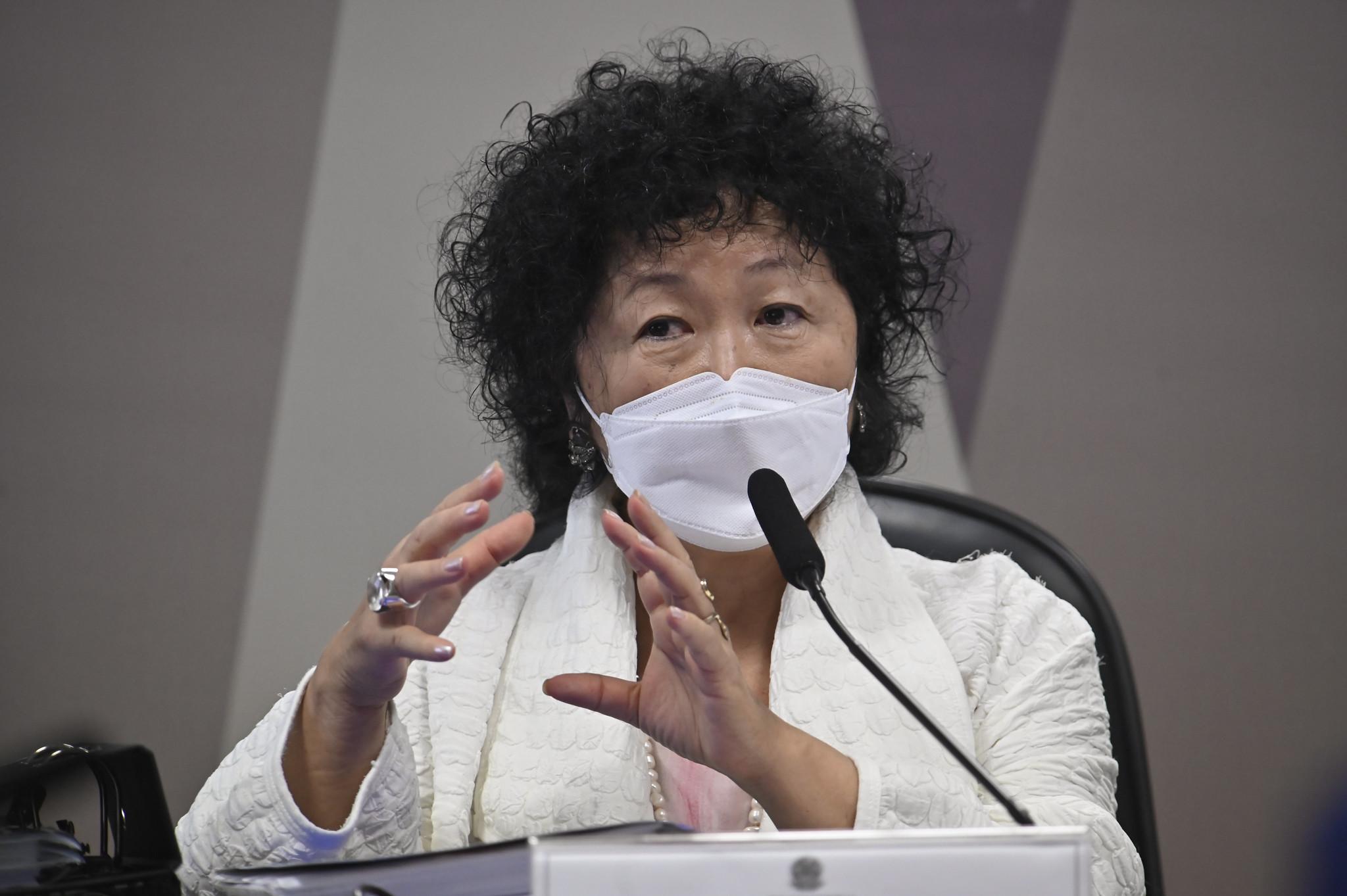 IMAGEM: Saiba tudo o que disse Nise Yamaguchi na CPI
