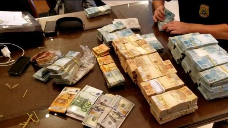 IMAGEM: Operação no TCE-MS apreendeu mais de R$ 1,6 milhão