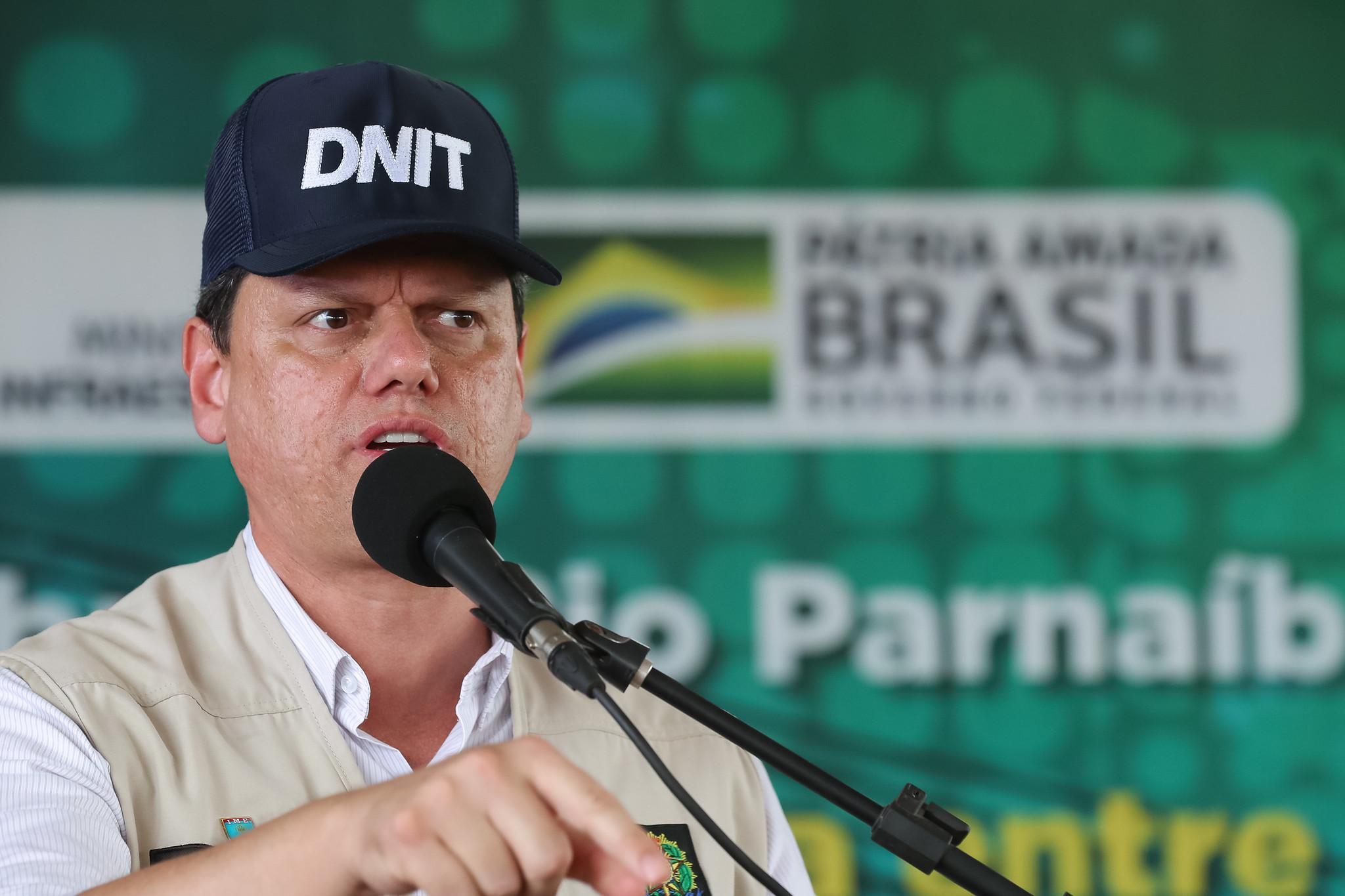 IMAGEM: Tarcísio defende atual modelo de concessões na infraestrutura
