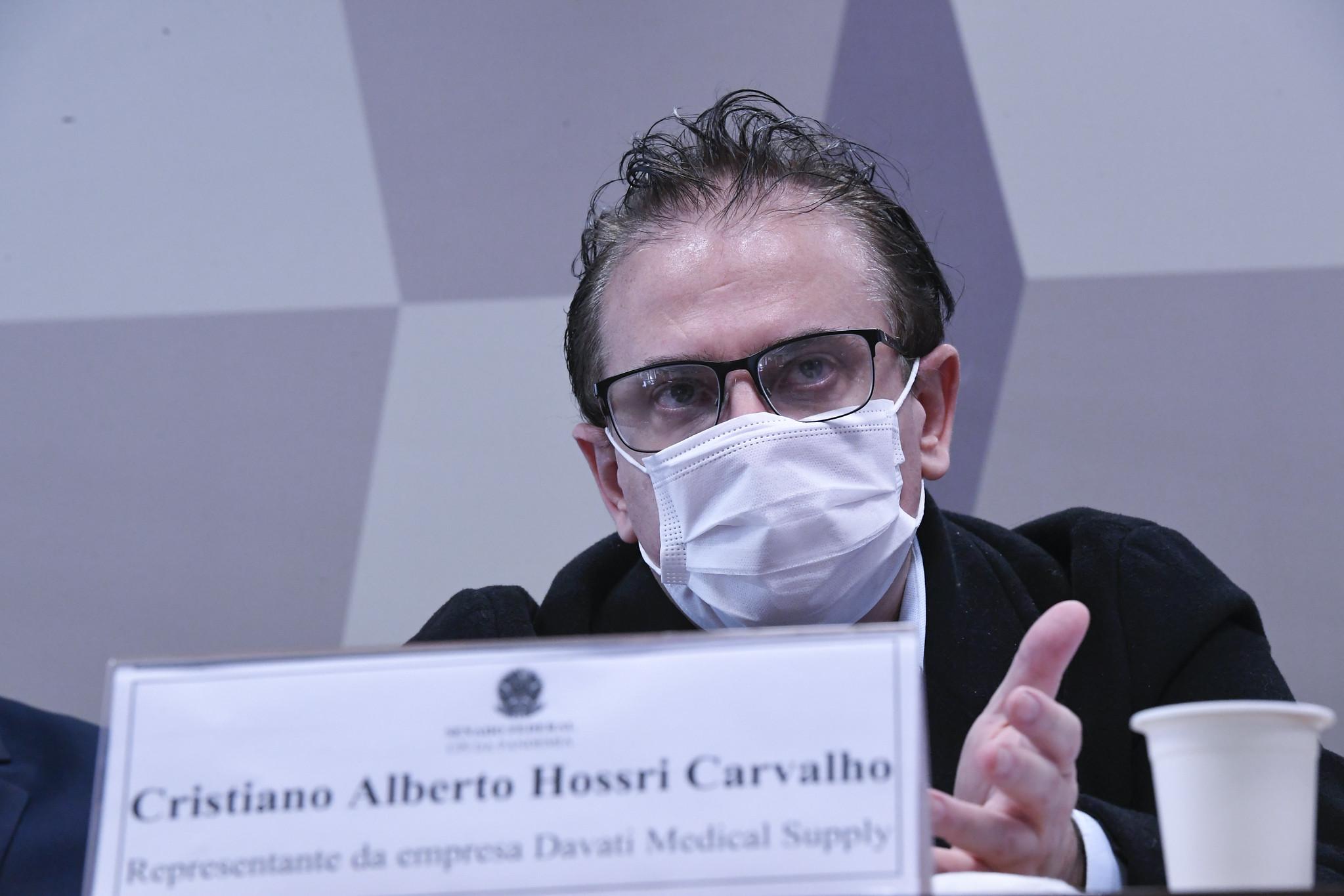 IMAGEM: Representante da Davati diz que Dominguetti usou áudio de Miranda de forma 'absurda'