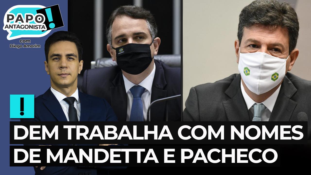 IMAGEM: ACM Neto diz que DEM trabalha com nomes de Mandetta e Pacheco para 2022
