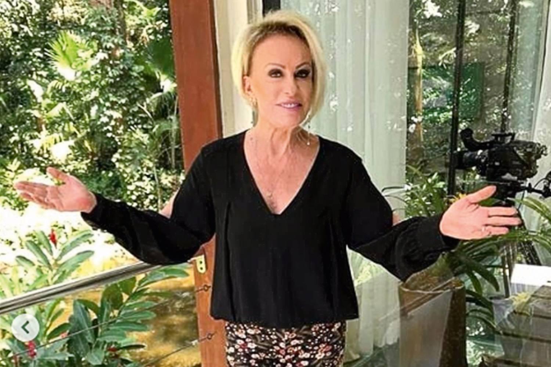 IMAGEM: Recuperada da Covid, Ana Maria Braga retorna ao 'Mais Você'
