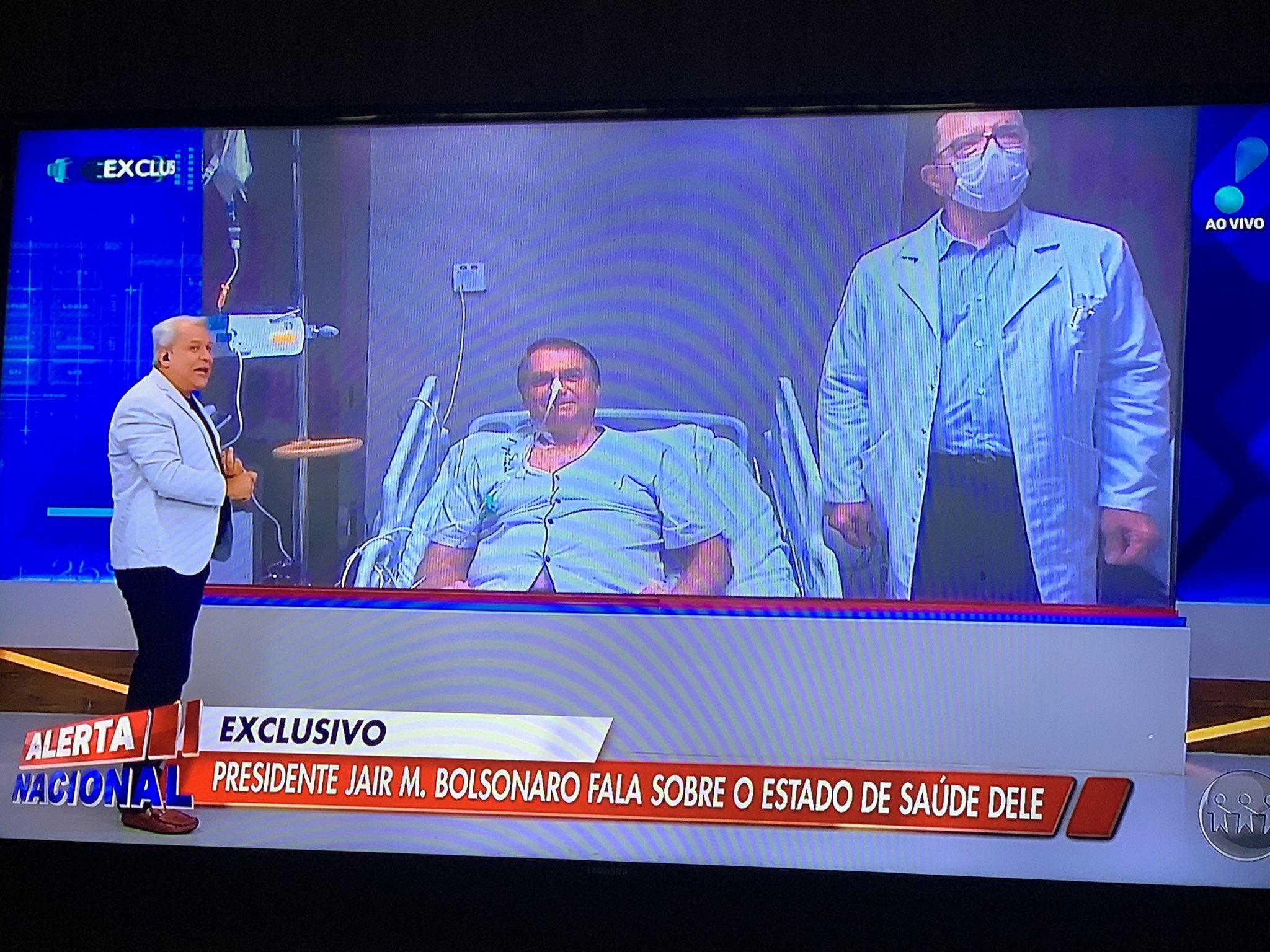 IMAGEM: Bolsonaro derruba audiência de Sikêra