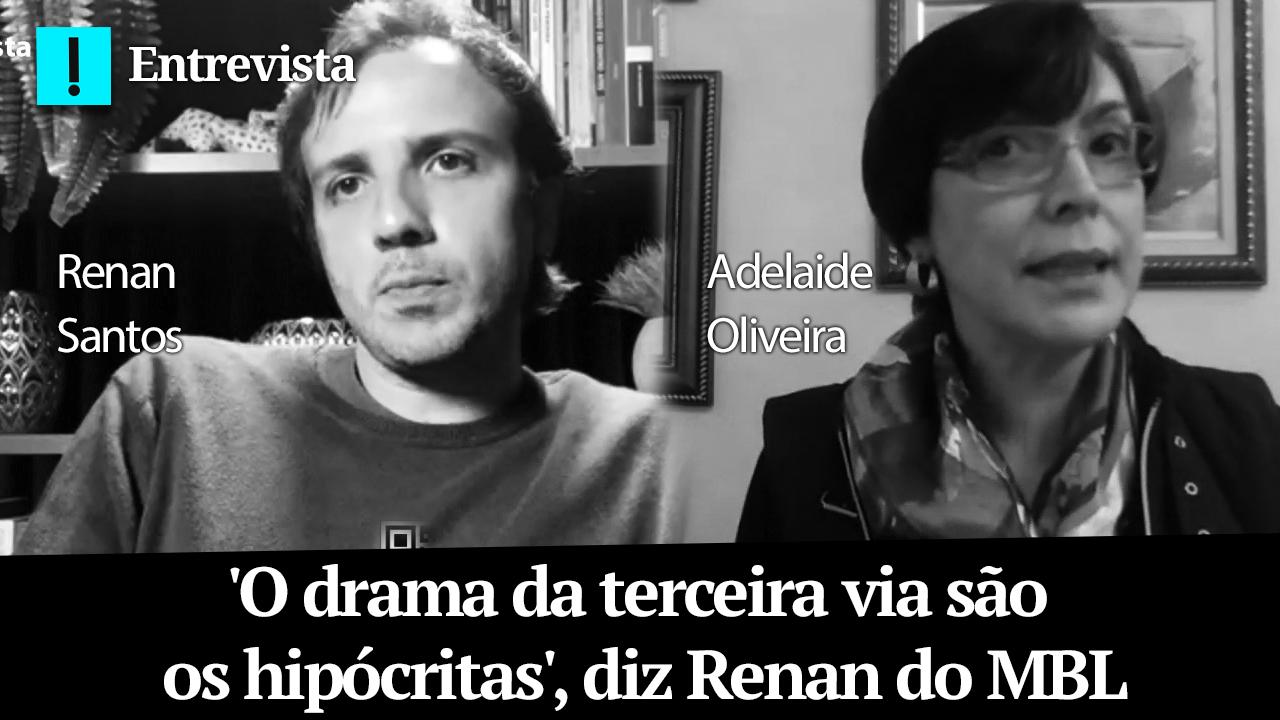 IMAGEM: 'O drama da terceira via são os hipócritas', diz Renan do MBL