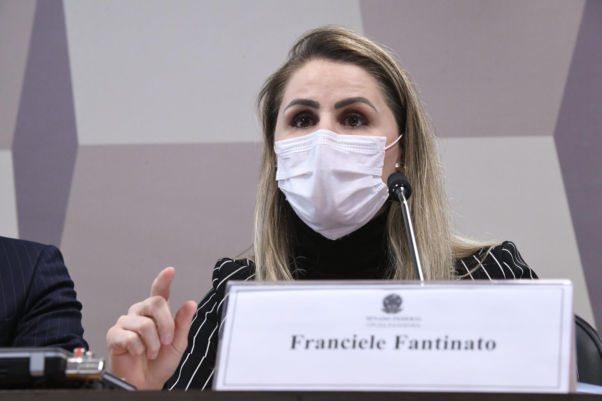 IMAGEM: Saiba tudo o que disse Francieli Fantinato à CPI