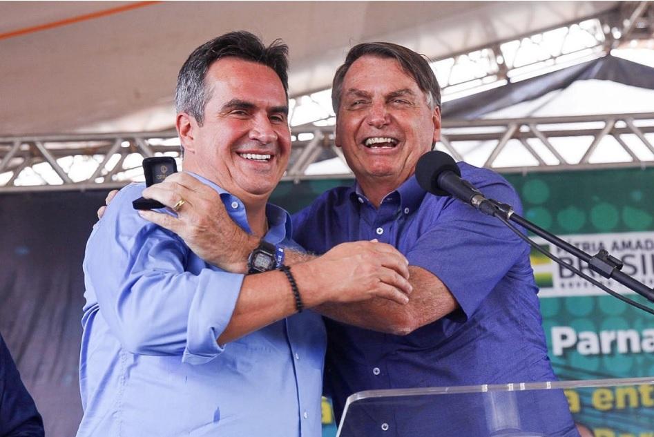 IMAGEM: 'Alma do governo' ficará com Ciro Nogueira, diz Bolsonaro