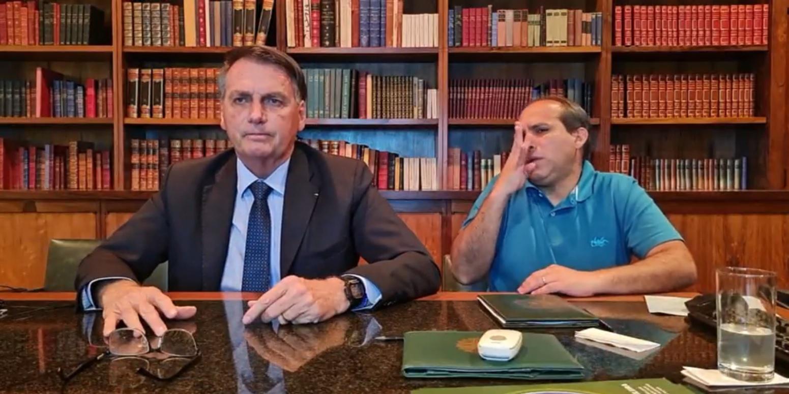 IMAGEM: Bolsonaro chama imprensa para live, sem direito a perguntas sobre suposta fraude