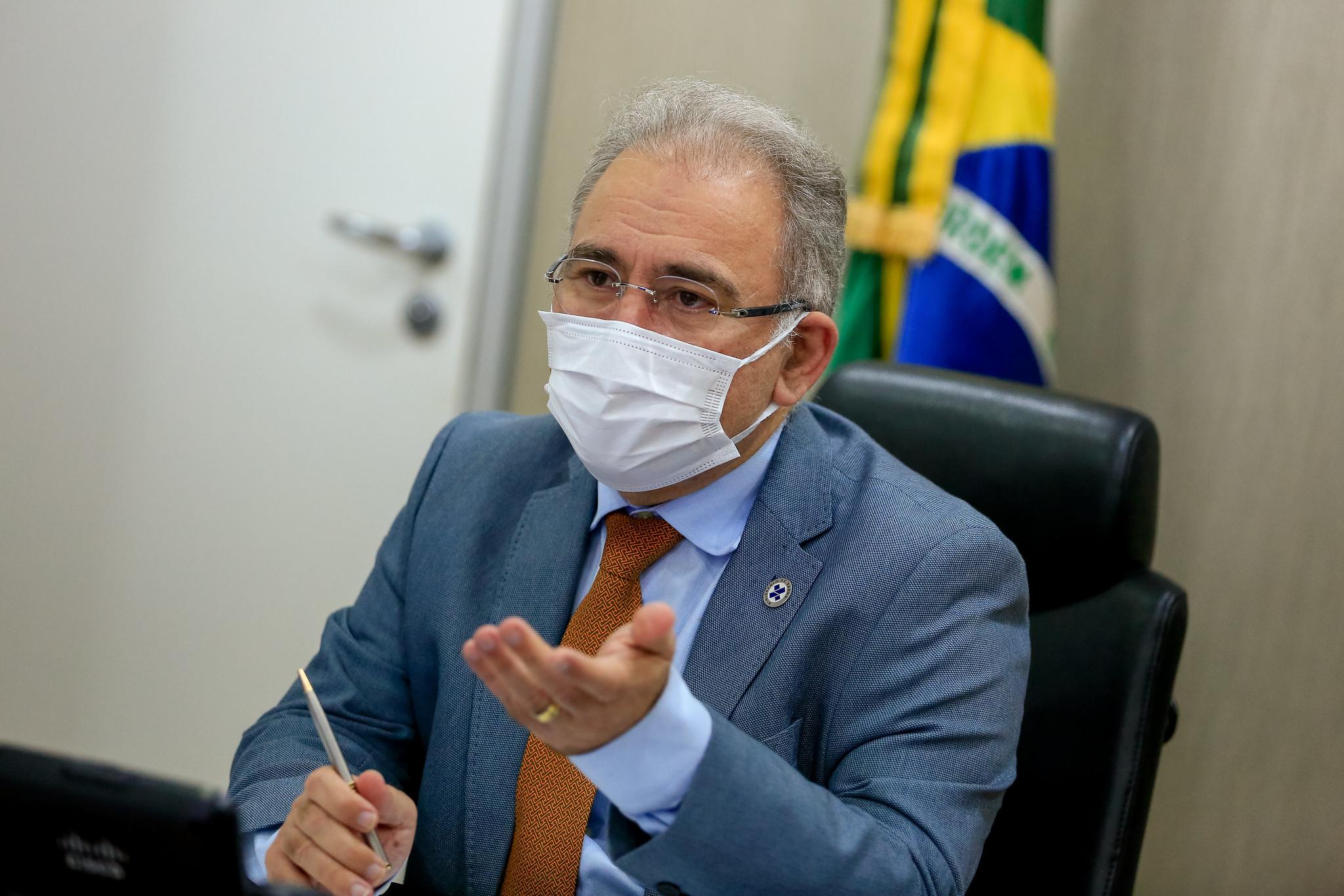 IMAGEM: Covid: Queiroga diz que Brasil só terá 3ª dose quando vacinação de adultos acabar