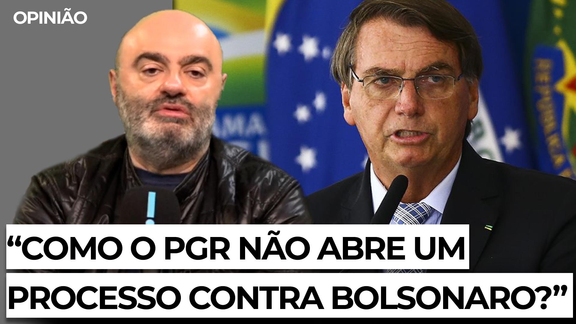 IMAGEM: Mario Sabino: 'Eu estou a me perguntar como o PGR não abre um processo contra Bolsonaro'