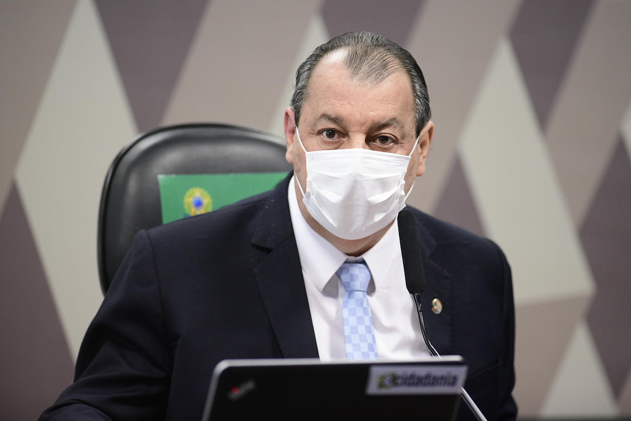 IMAGEM: Aziz manda Polícia Legislativa periciar documentos relacionados à Covaxin