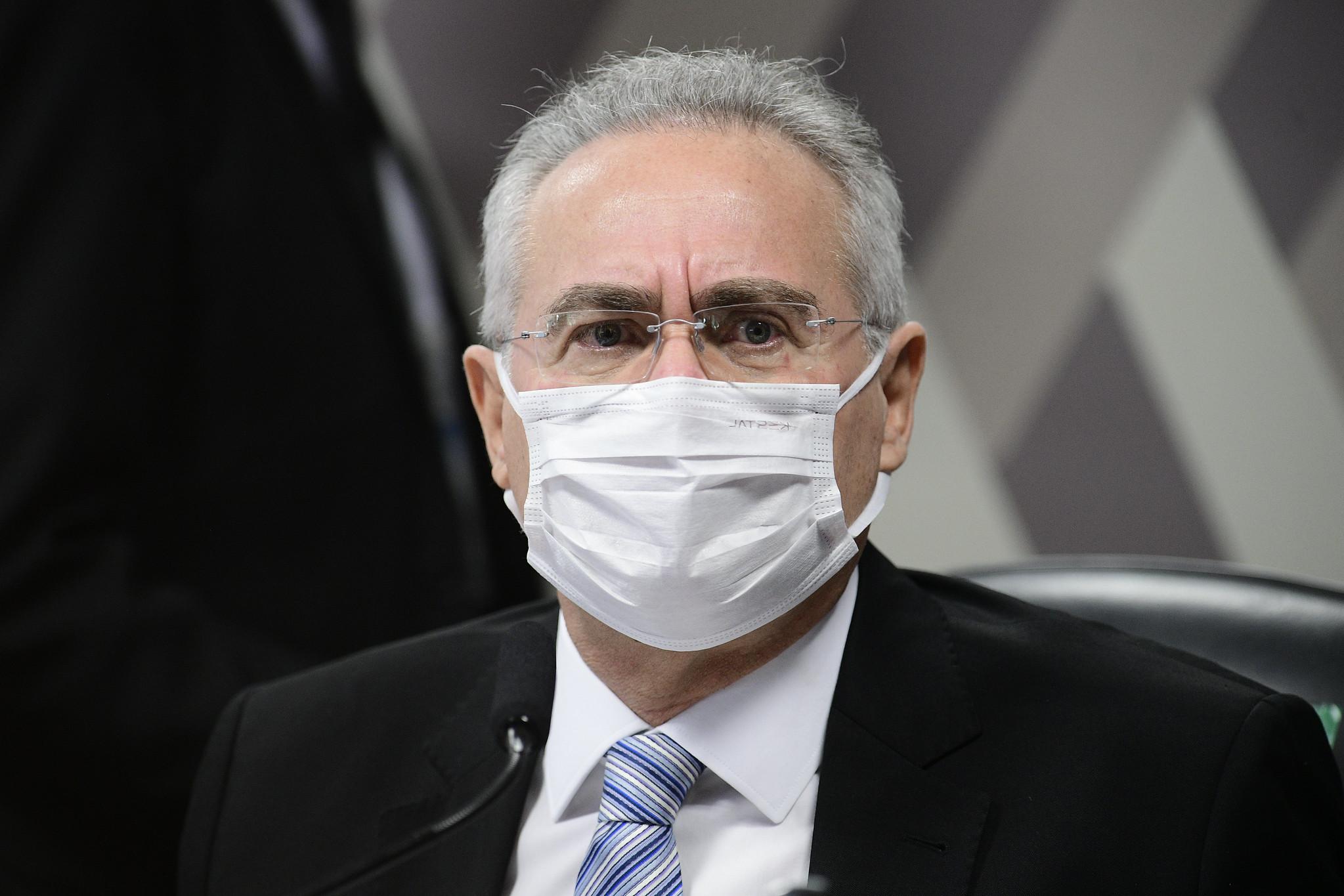 """IMAGEM: Renan diz que Bolsonaro não será reeleito """"sob nenhuma hipótese"""""""