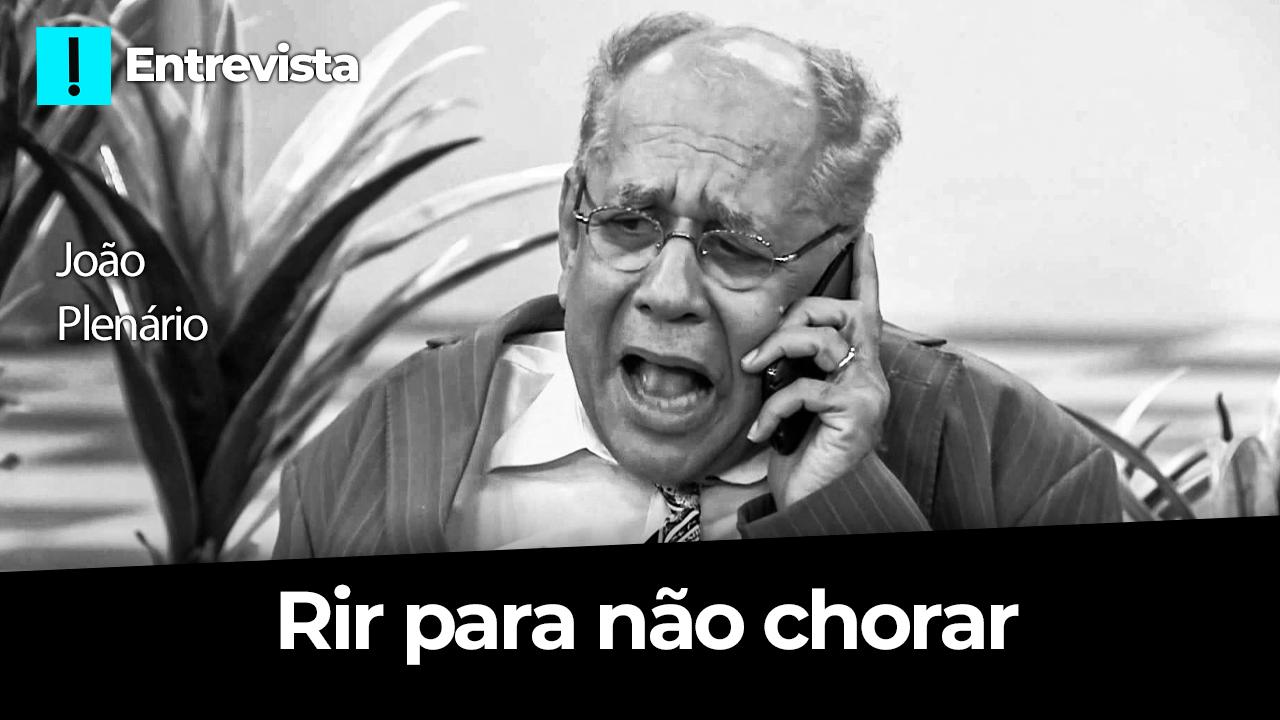 IMAGEM: O Antagonista entrevista o deputado corrupto João Plenário