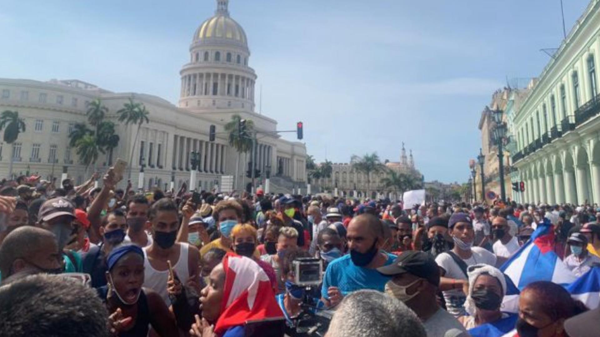 IMAGEM: Cinco generais cubanos morreram desde os protestos de 11 de julho