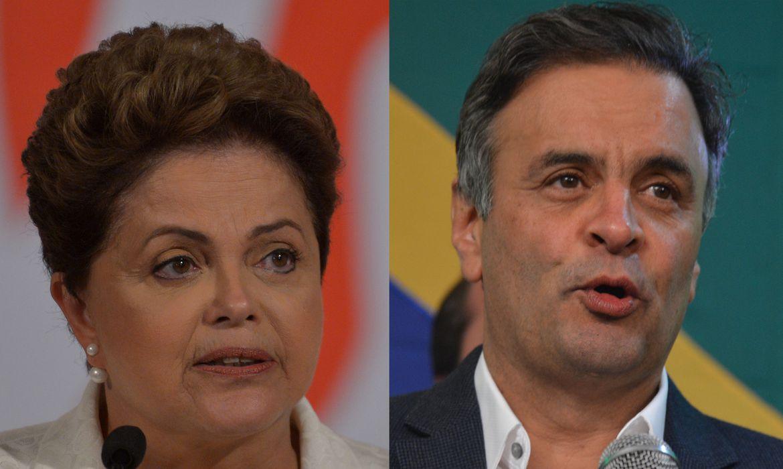 IMAGEM: Bolsonaro mente: dados do TSE mostram que Dilma ultrapassou Aécio apenas uma vez