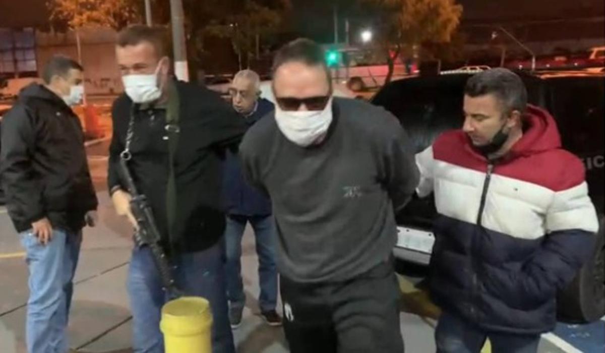 IMAGEM: Ex-vereador Girão é preso em SP por morte de rival