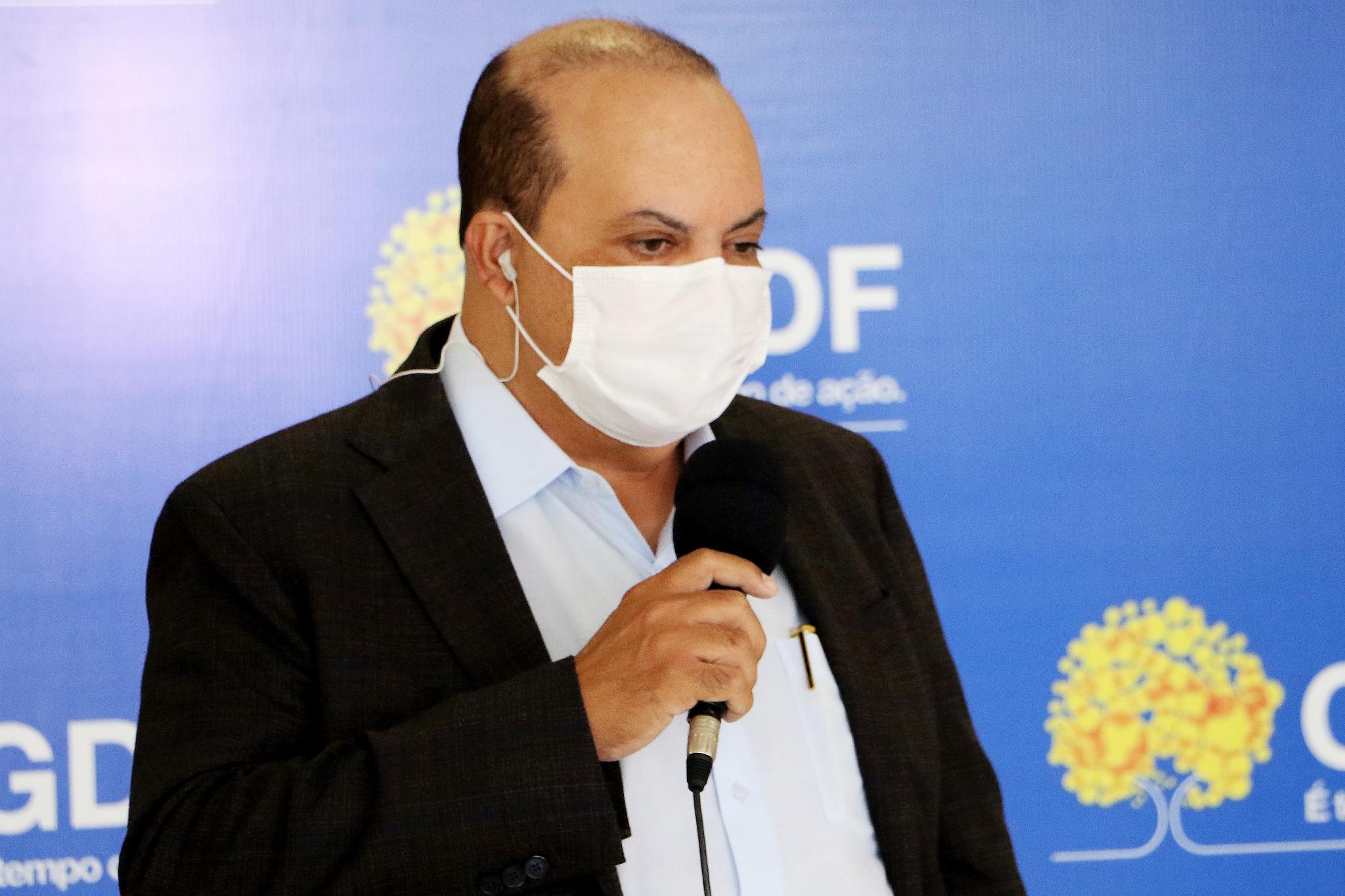 IMAGEM: Vacinação de Ibaneis no DF é capenga, frágil e inconsistente
