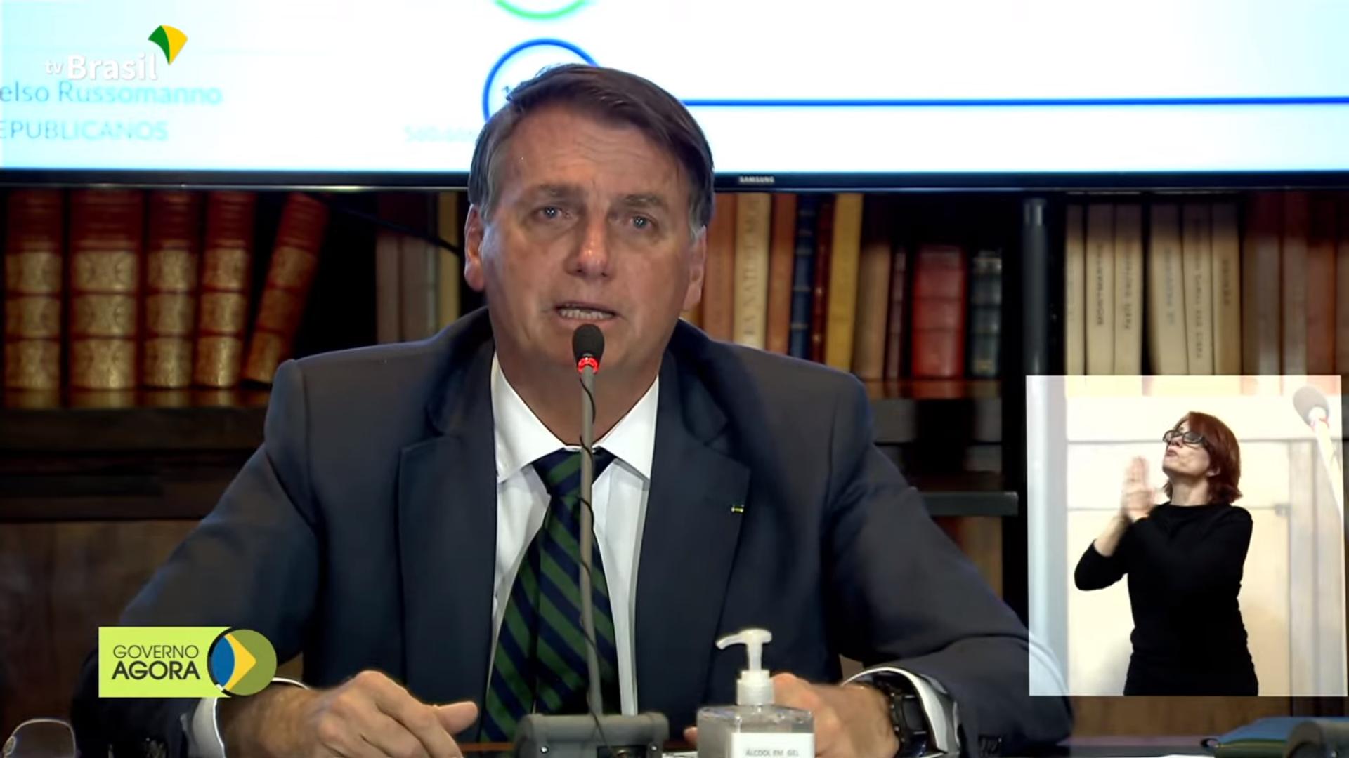 IMAGEM: Youtuber tenta apagar vídeo usado no show de mentiras de Bolsonaro