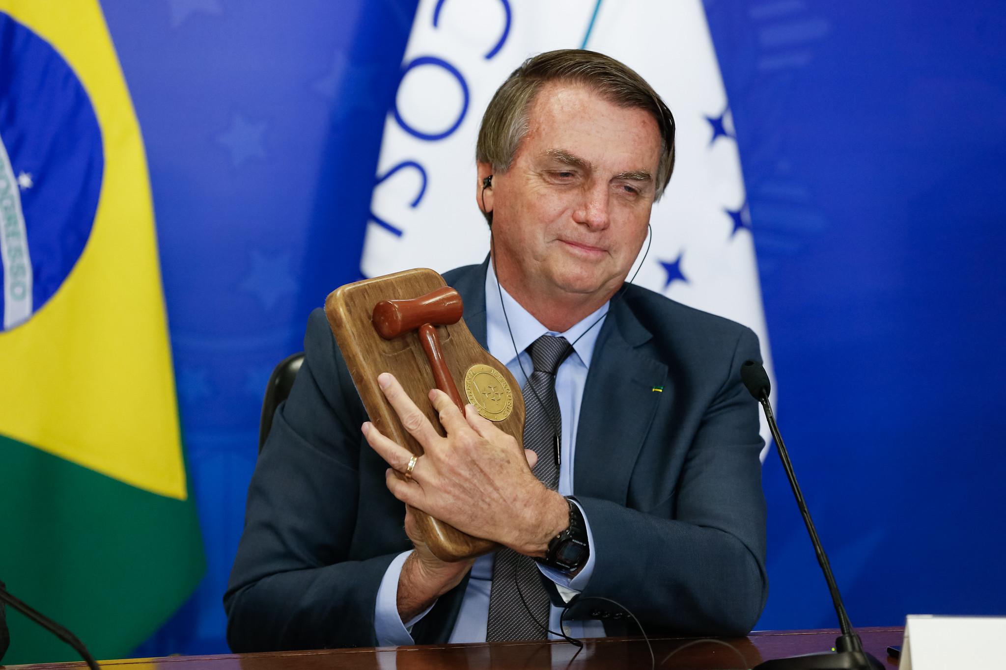 IMAGEM: Datafolha: maioria defende impeachment de Bolsonaro