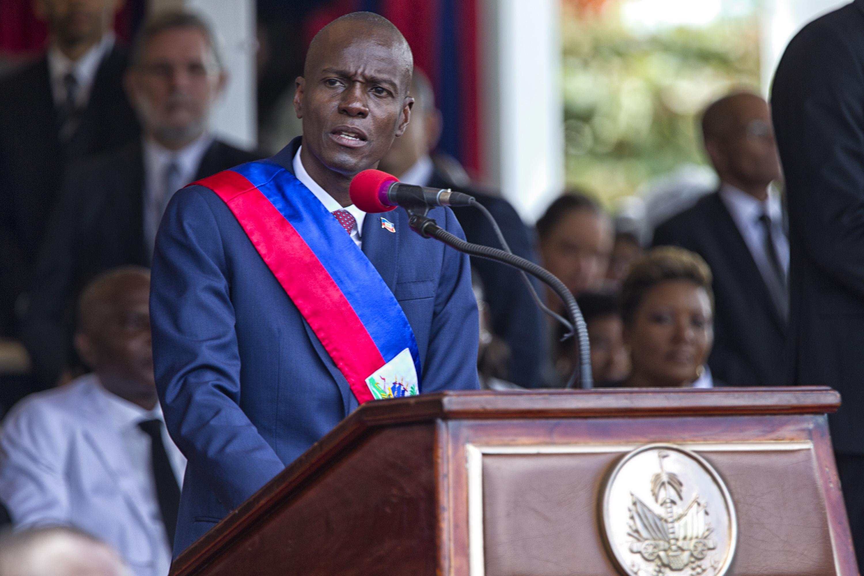 IMAGEM: Haiti declara estado de sítio após assassinato de presidente