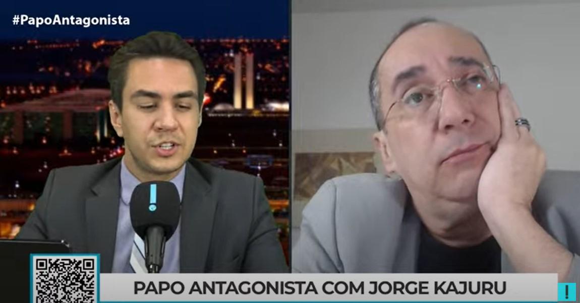 IMAGEM: Bolsonaro está canonizando Luis Miranda, diz Kajuru