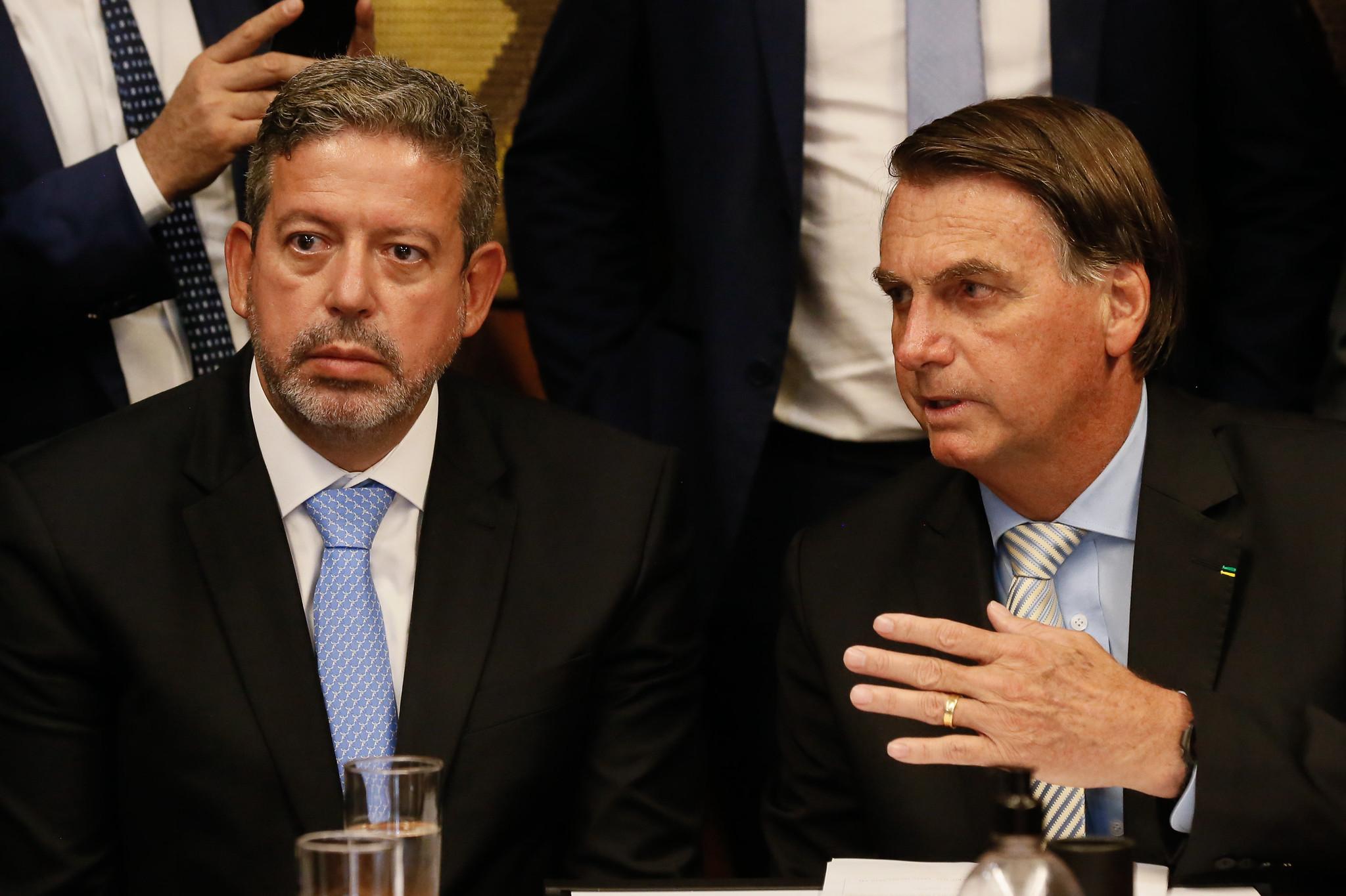 IMAGEM: Lira promete a Bolsonaro agilidade na aprovação de MP sobre reforma fisiológica