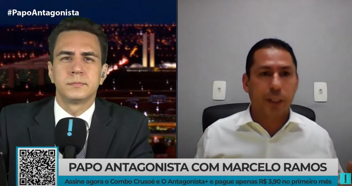IMAGEM: Marcelo Ramos diz que pode ter sido alvo de armação do governo para dobrar fundão